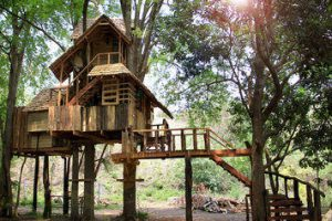 Moon House Rabeang Pasak Tree House Staytopia