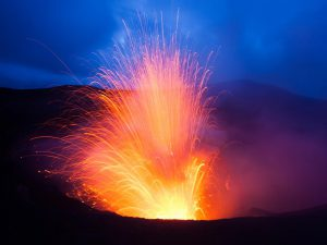 Mt Yasur Volcano Tanna Island