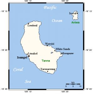 Tanna Island Map - Wikipedia