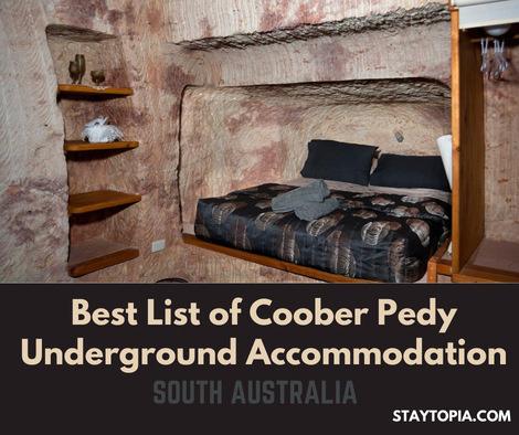 Best List of Coober Pedy Underground Accommodation