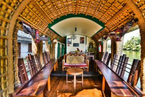 Kerala Houseboat interior