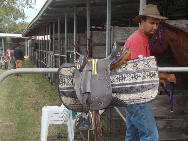 French Cowboy in Koumac New Caledonia