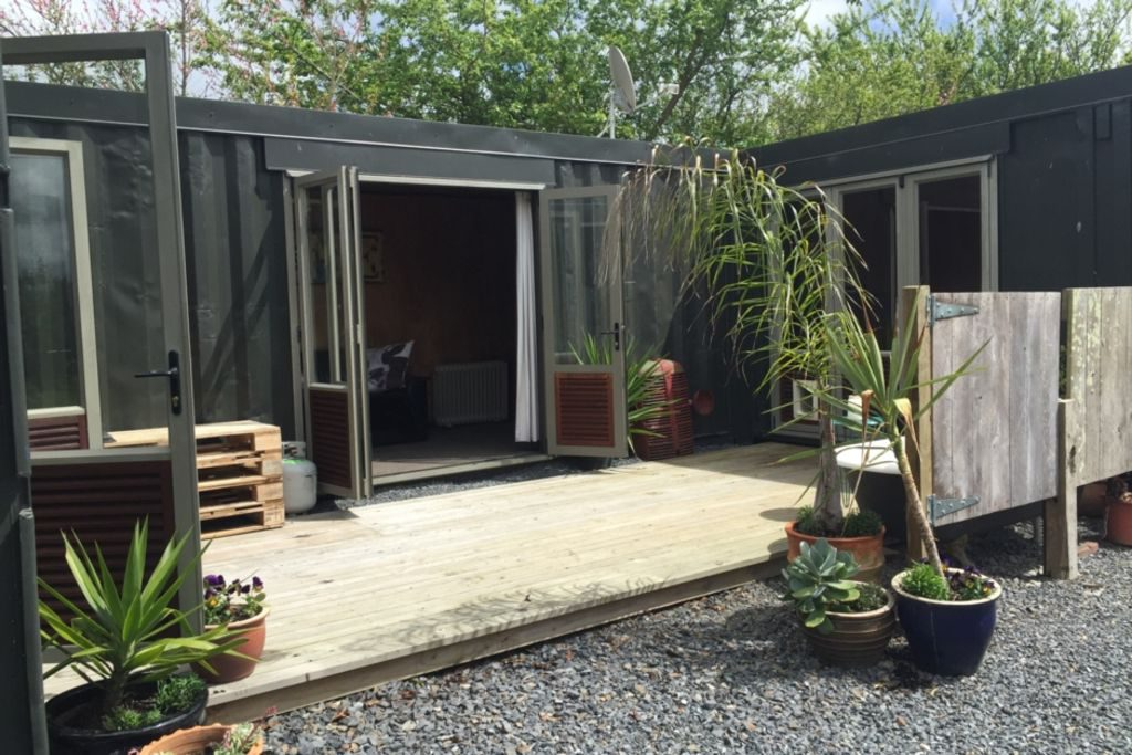 Homeaway Otaki New Zealand Container House for Rent - unique New Zealand accommodation
