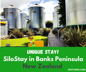 SiloStay in Banks Peninsula New Zealand