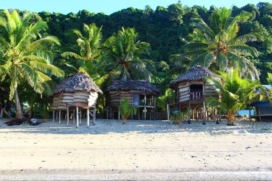 Faofao Beach Fales at Saleapaga