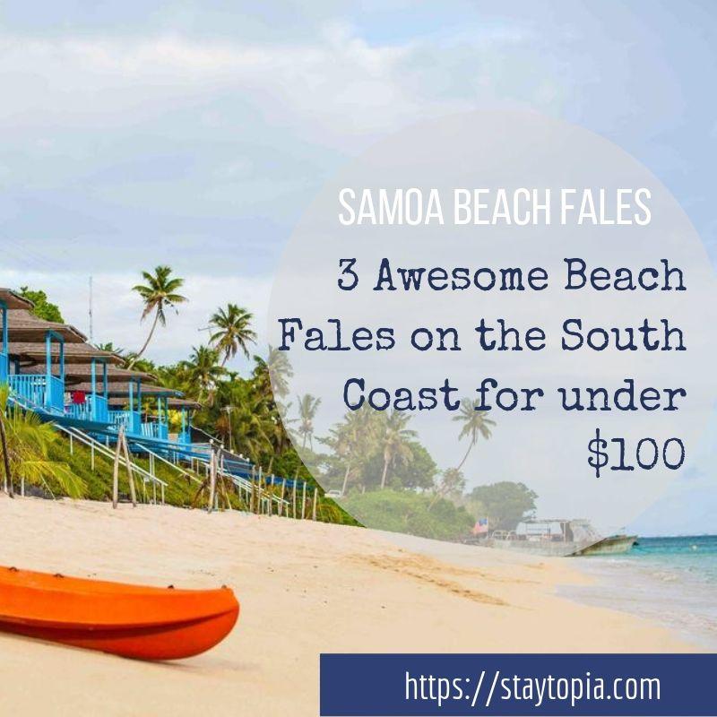 Samoa Beach Fales