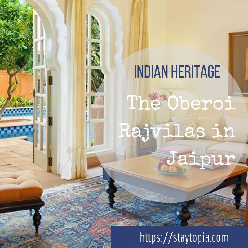 The Oberoi Rajvilas in Jaipur India