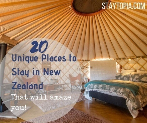 20 Unique Places to Stay in New Zealand
