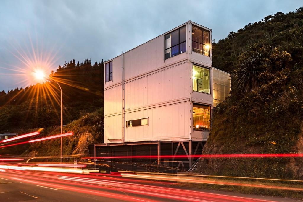 The Wellington Container House -  9 Unique Places to stay in Wellington