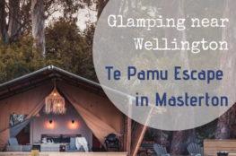 Glamping near Wellington - Te Pamu Escape in Masterton Staytopia