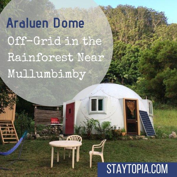 Araluen Dome near Mullumbimby