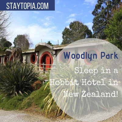 Woodlyn Park Hobbit Hotel in New Zealand
