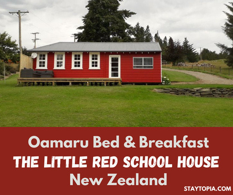 Oamaru Bed and Breakfast - The Little Red School House