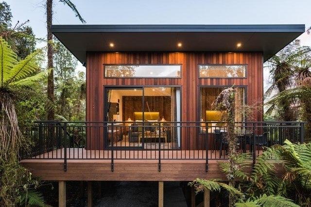 Rainforest Retreat Treehouse Franz Josef