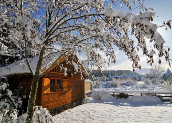 Ohakune Accommodation with spa pool - Gorgeous Log Cabin