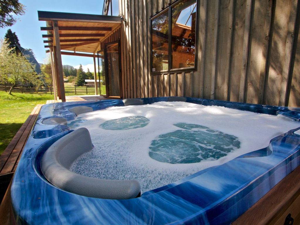 Ohakune accommodation with spa