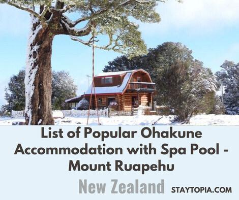 Popular Ohakune Accomodation with Spa Pool