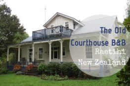 The Old Courthouse B&B Raetihi