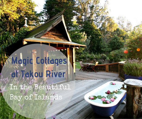Magic Cottages at Takou River Bay of Islands