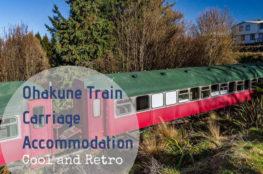 Ohakune Train Carriage Accommodation