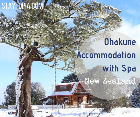 Popular Ohakune Accommodation with spa