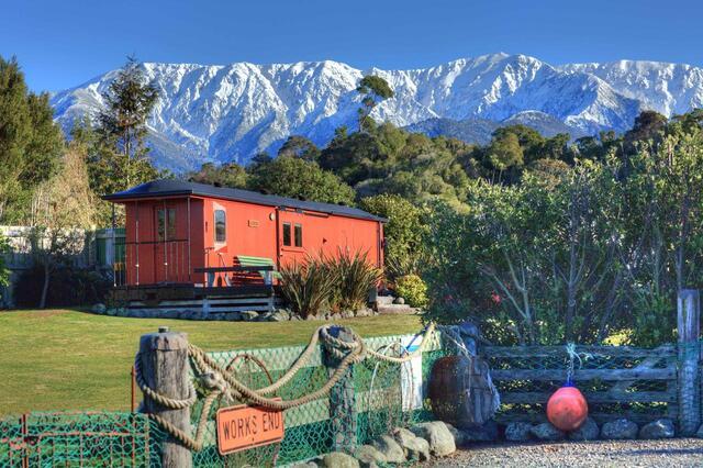 Hapuku Carriages View - Kaikoura Accommodation