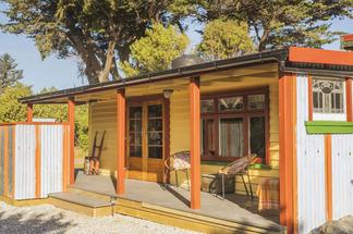 Pohutukawa Cottage front - Kaikoura Accommodation