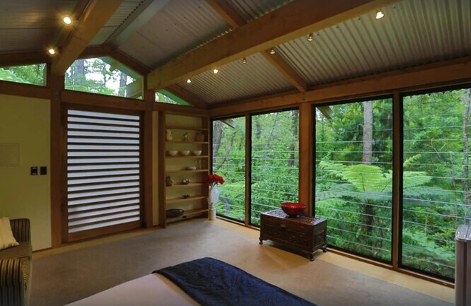 Unique Places to Stay in Auckland - Romantic Sanctuary in the Bush