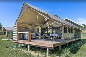 Glamping Byron Bay Tent - Glamping Northern Rivers NSW