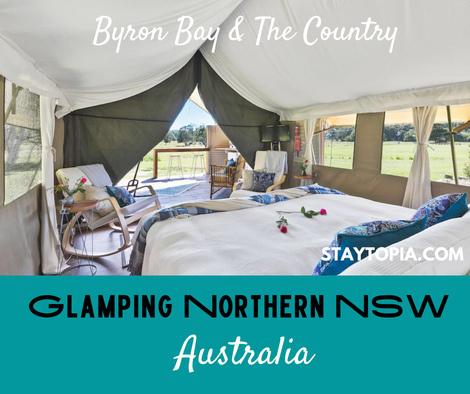 Glamping in Byron Bay