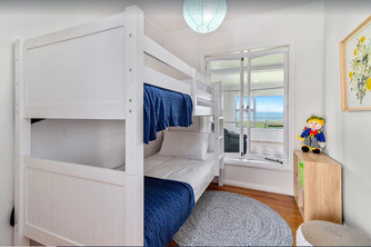 Hannahs Bay Waterfront Getaway bunkbeds - unique and boutique Rotorua accommodation