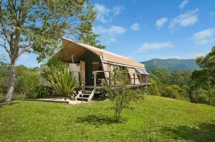 Silk Pavillions Glamping NSW Tented Suite