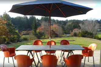 Copper Gate - Rural Eco-Holiday Home Deck