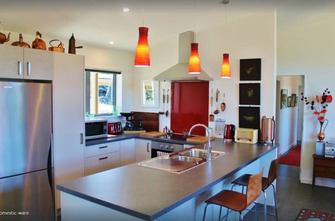 Copper Gate - Rural Eco-Holiday Home Kitchen