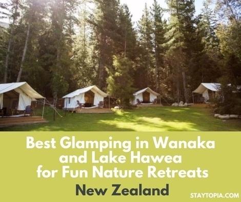 Best Glamping in Wanaka and Lake Hawea