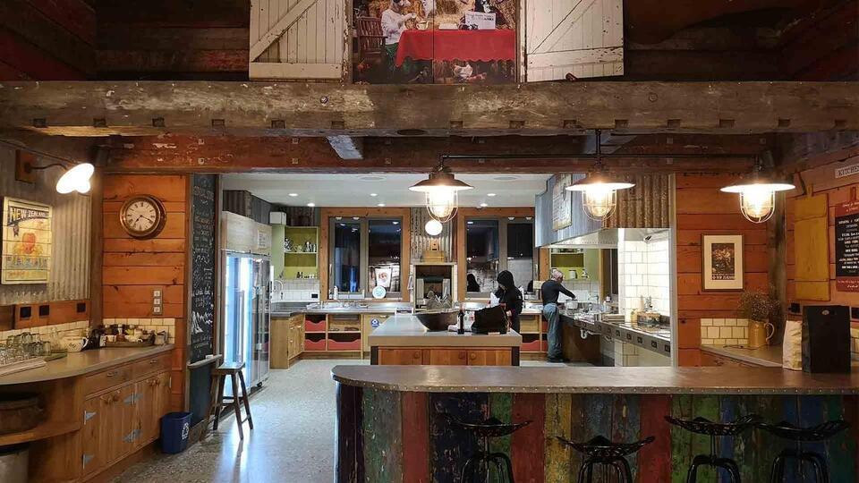 Camp Glenorchy Eco Retreat Kitchen