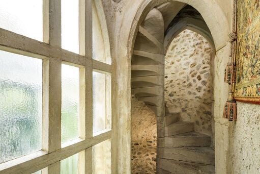 Castle Keep Spiral Staircase