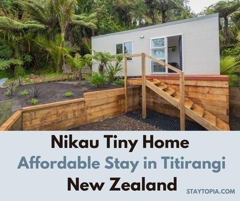 Nikau Tiny House in Titirangi