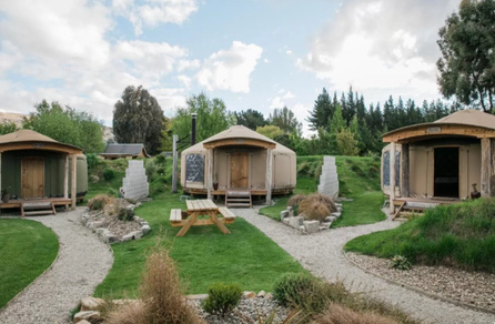 Oasis Yurt Lodge Glamping in Wanaka