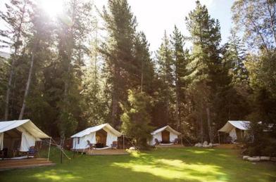 The Camp - Lake Hawea - Glamping in Wanaka