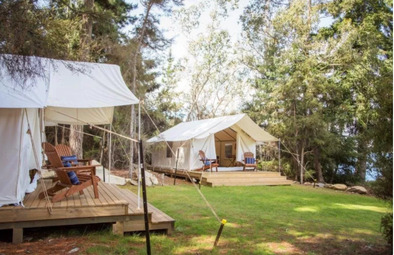The Camp - Lake Hawea Tents - Glamping in Wanaka