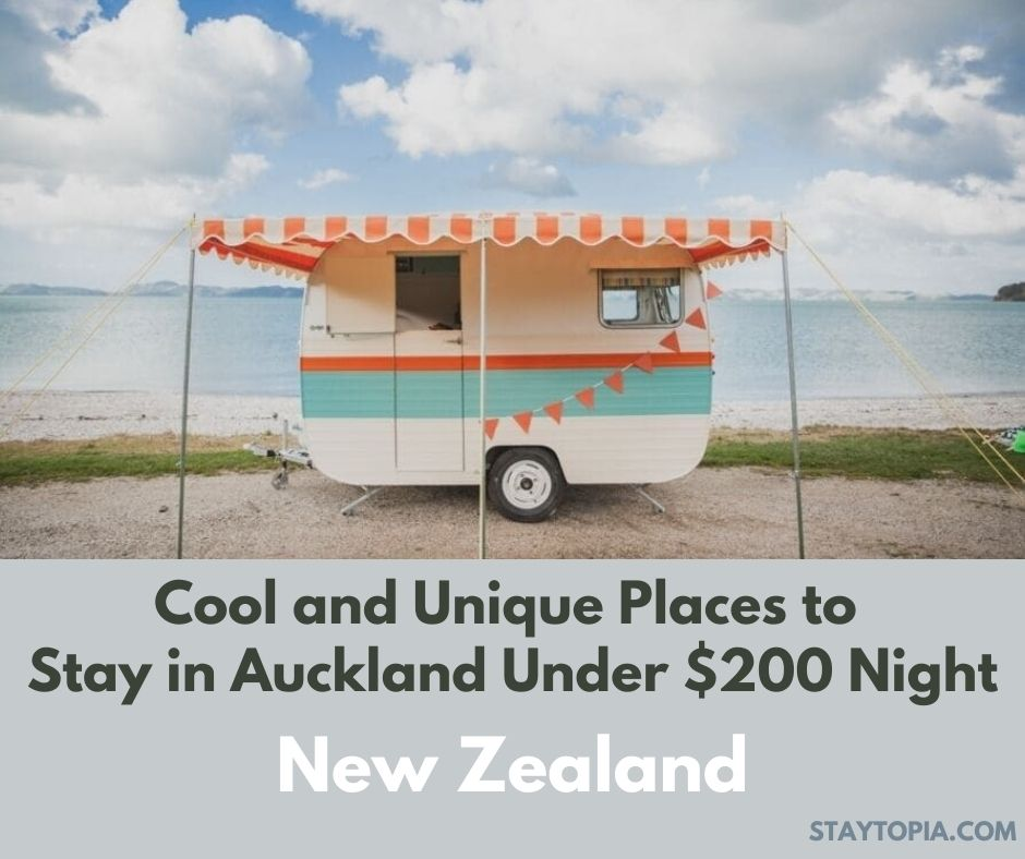 Cool and Unique Places to Stay in Auckland Under $200 Night