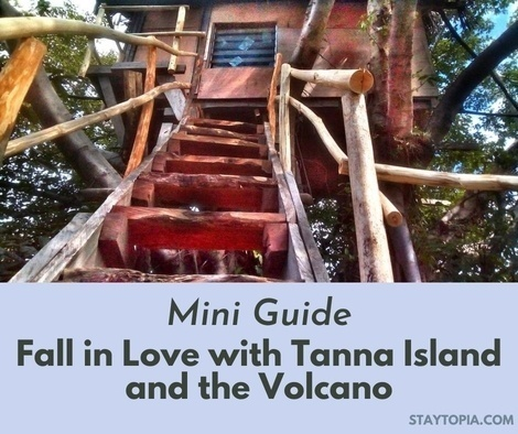 Fall in Love with Tanna Island and the Volcano