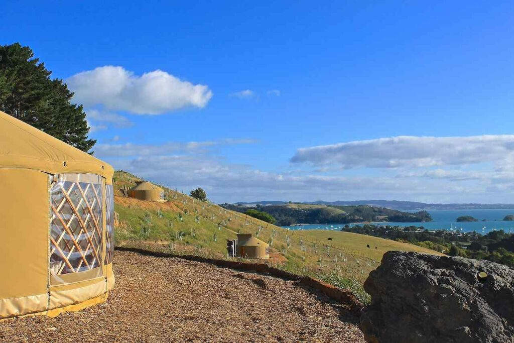 Papa Yurt - Place to Stay in Auckland