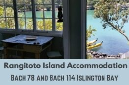 Rangitoto Island Accommodation