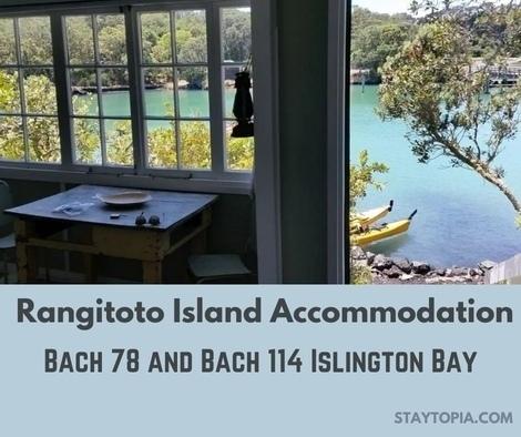 Rangitoto Island Accommodation