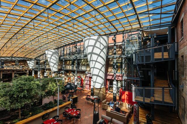 Henry Jones Hotel Atrium - Heritage Tasmania Hotel