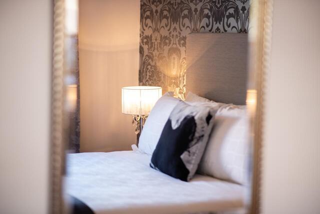 Sanctum Boutique Apartments Bedroom - Luxury Hobart Accommodation
