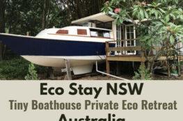 Eco Stay NSW - Tiny Boathouse Private Eco Retreat