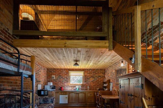 Grampians Historic Tobacco Kiln Interior - Quirky Accommodation in Victoria
